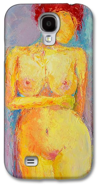 Posters Of Nudes Galaxy S4 Cases - Nude Woman Figure No. 3 Galaxy S4 Case by Patricia Awapara