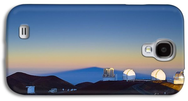 Keck Galaxy S4 Cases - Observatories On Mauna Kea Galaxy S4 Case by David Nunuk