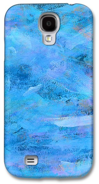 Eye-catching Galaxy S4 Cases - Ocean Blue Abstract Galaxy S4 Case by Frank Tschakert