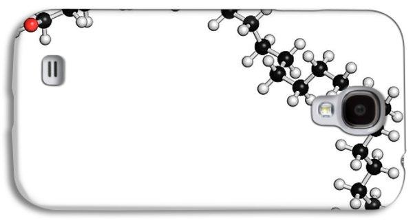 Octacosanol Plant Wax Component Molecule Galaxy S4 Case by Molekuul