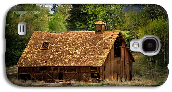 Recently Sold -  - Haybale Galaxy S4 Cases - Old Barn Galaxy S4 Case by Robert Bales