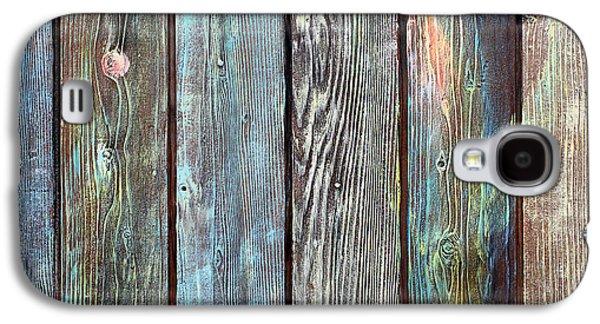 Entrances Sculptures Galaxy S4 Cases - Old Barnyard Gate Galaxy S4 Case by Asha Carolyn Young