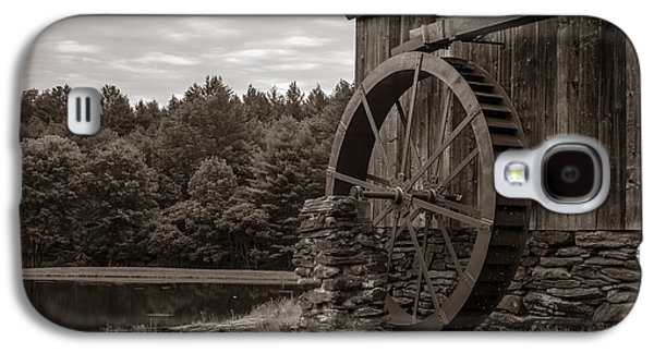 Country Store Galaxy S4 Cases - Old Grist Mill Vermont Galaxy S4 Case by Edward Fielding