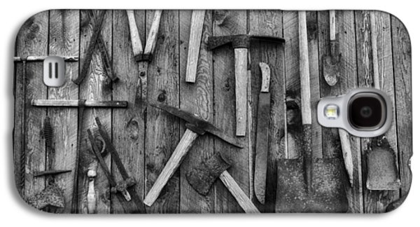 Shed Galaxy S4 Cases - Old Tools Galaxy S4 Case by Mountain Dreams