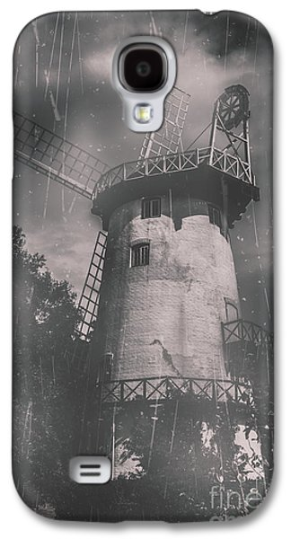 Old Mill Scenes Photographs Galaxy S4 Cases - Old tower mill building. Historic fine art photo Galaxy S4 Case by Ryan Jorgensen