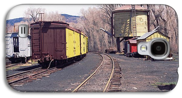 Terminal Photographs Galaxy S4 Cases - Old Train Terminal, Chama, New Mexico Galaxy S4 Case by Panoramic Images