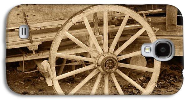 Unused Galaxy S4 Cases - Old Wagon Wheel Galaxy S4 Case by Dan Sproul