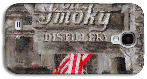 Stars And Stripes Mixed Media Galaxy S4 Cases - Ole Smoky Distillery Galaxy S4 Case by Dan Sproul