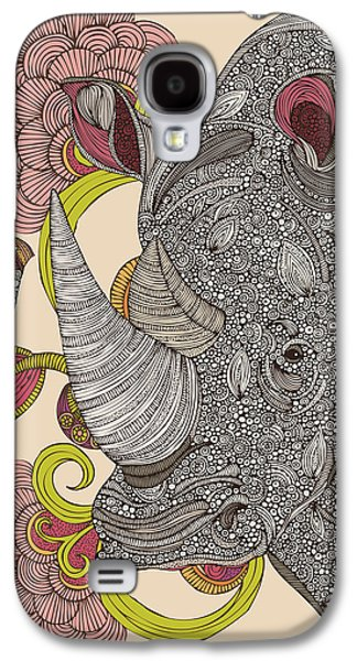 Illustration Photographs Galaxy S4 Cases - Olive and Hank Galaxy S4 Case by Valentina Ramos