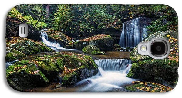 Carolina Galaxy S4 Cases - On the way to Catawba Falls Galaxy S4 Case by Andres Leon