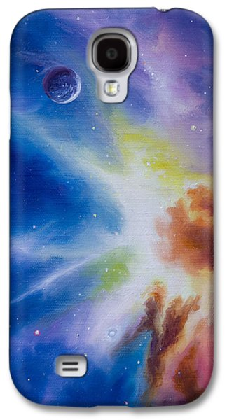 Stellar Paintings Galaxy S4 Cases - Origin Nebula Galaxy S4 Case by James Christopher Hill