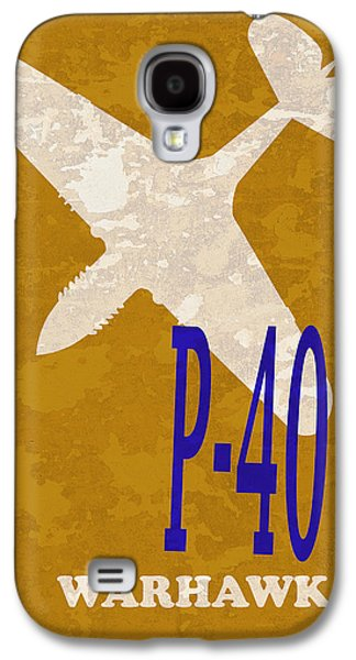 P51 Photographs Galaxy S4 Cases - P-40 Warhawk Galaxy S4 Case by Mark Rogan
