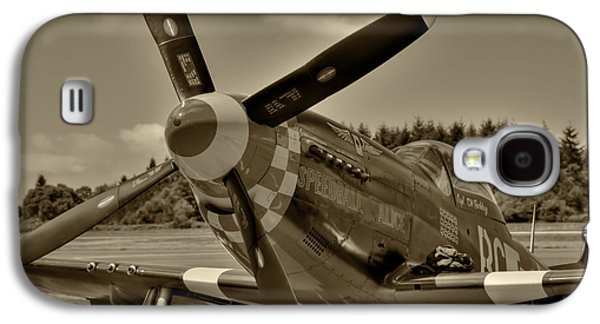 P51 Photographs Galaxy S4 Cases - P-51 Mustang Speedball Alice Galaxy S4 Case by David Patterson