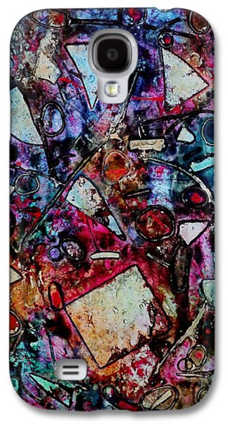 Abstract Landscape Galaxy S4 Cases - Palimpsest  Galaxy S4 Case by John  Nolan