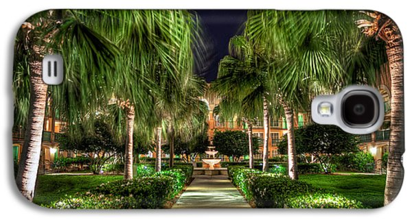 Palm Walkway Galaxy S4 Case by Tim Stanley