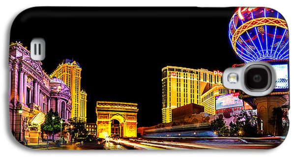 Las Vegas Galaxy S4 Cases - Paris On The Strip Galaxy S4 Case by Az Jackson