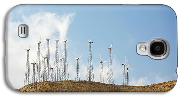 Part Of The Tehachapi Pass Wind Farm Galaxy S4 Case by Ashley Cooper