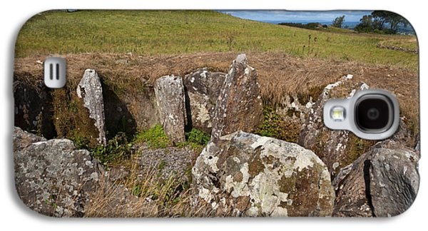 Farmscape Galaxy S4 Cases - Passage Grave,carbane West, Loughcrew Galaxy S4 Case by Panoramic Images