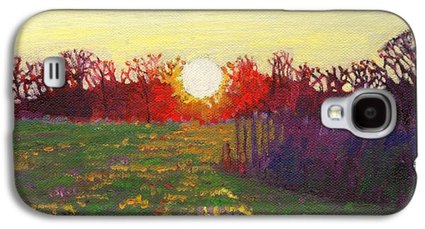 Sun Galaxy S4 Cases - Path of light Galaxy S4 Case by Helen White