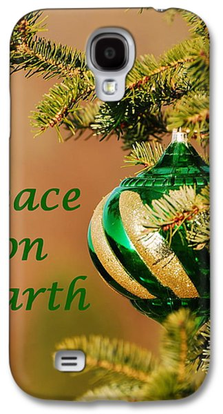 Cheer On Galaxy S4 Cases - Peace on Earth 2 Galaxy S4 Case by Francie Davis