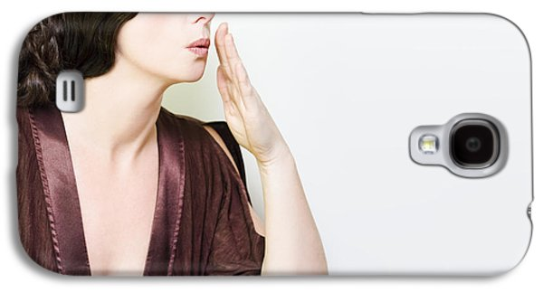 Person Whispering A Secret Over White Galaxy S4 Case by Jorgo Photography - Wall Art Gallery