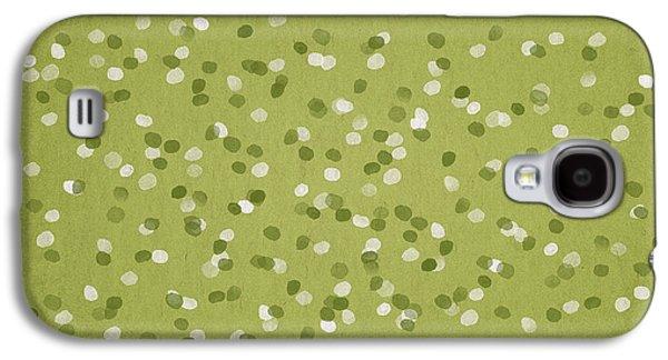 Dots Digital Art Galaxy S4 Cases - Petals Galaxy S4 Case by Aged Pixel
