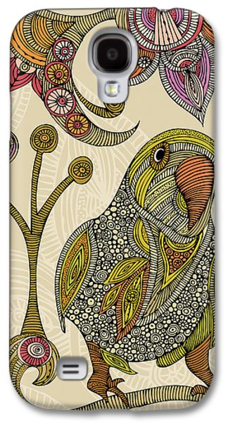 Illustration Photographs Galaxy S4 Cases - Peter the Parrot Galaxy S4 Case by Valentina Ramos