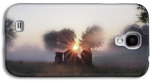 Philadelphia Cricket Galaxy S4 Cases - Philadelphia Cricket Club at Sunrise Galaxy S4 Case by Bill Cannon