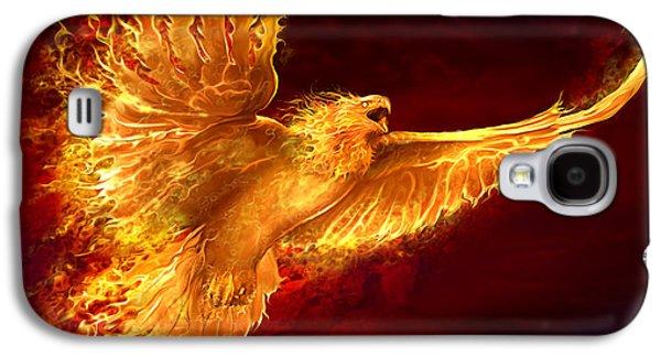 Phoenix Rising Galaxy S4 Case by Tom Wood