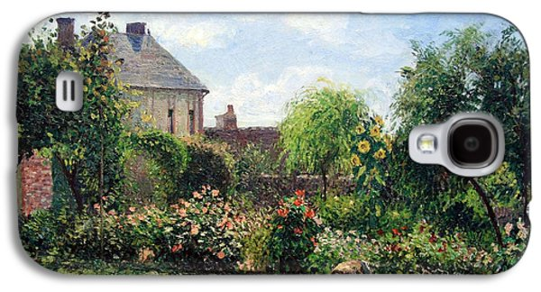Cora Wandel Galaxy S4 Cases - Pissarros The Artists Garden At Eragny Galaxy S4 Case by Cora Wandel