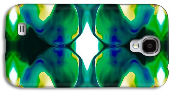 Abstract Digital Drawings Galaxy S4 Cases - Playful Galaxy S4 Case by Gayle Price Thomas