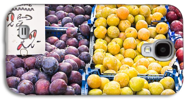 Local Food Galaxy S4 Cases - Plums Galaxy S4 Case by Tom Gowanlock