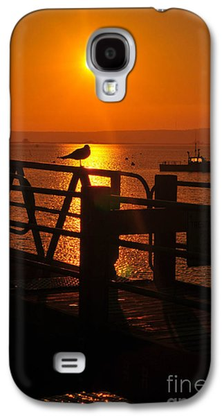 Catherine Reusch Daley Galaxy S4 Cases - Plymouth Harbor Sunrise Galaxy S4 Case by Catherine Reusch  Daley