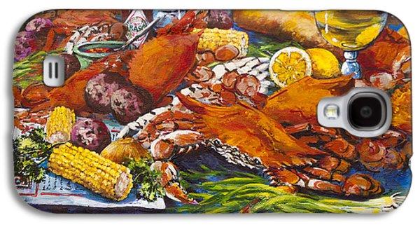 Pontchartrain Crabs Galaxy S4 Case by Dianne Parks