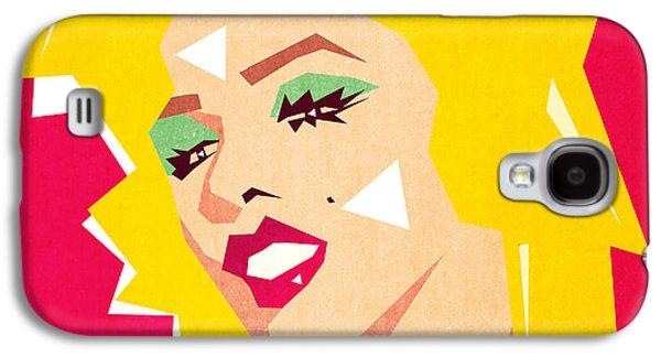 70s Galaxy S4 Cases - Pop Art  Galaxy S4 Case by Mark Ashkenazi