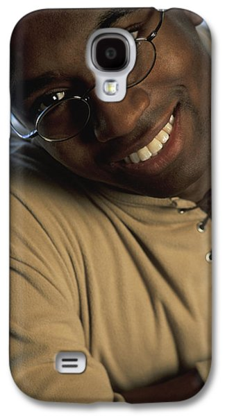 African-american Galaxy S4 Cases - Portrait Of A Man Galaxy S4 Case by Darren Greenwood