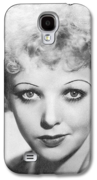 Portrait Of Ida Lupino Galaxy S4 Case by Underwood Archives