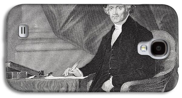 Thomas Jefferson Galaxy S4 Cases - Portrait of Thomas Jefferson Galaxy S4 Case by Alonzo Chappel