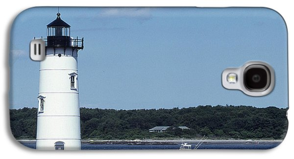 Light Galaxy S4 Cases - Portsmouth Harbor Light Galaxy S4 Case by Herbert Gatewood