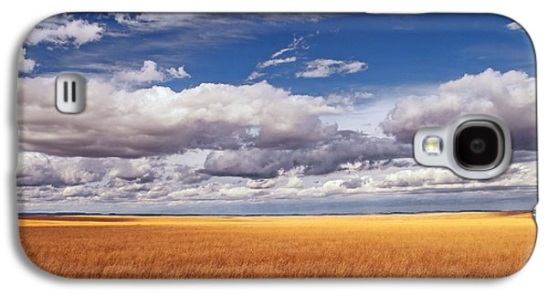 Prairie Galaxy S4 Cases - Prairie Wyoming U S A Galaxy S4 Case by Don Spenner
