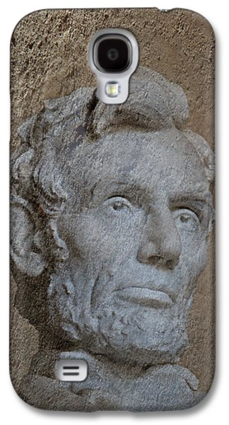 President Lincoln Galaxy S4 Case by Skip Willits