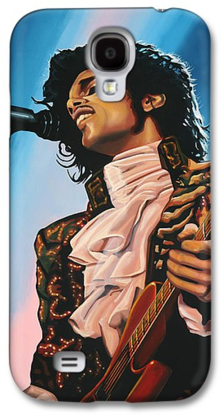 Work Of Art Galaxy S4 Cases - Prince Galaxy S4 Case by Paul  Meijering