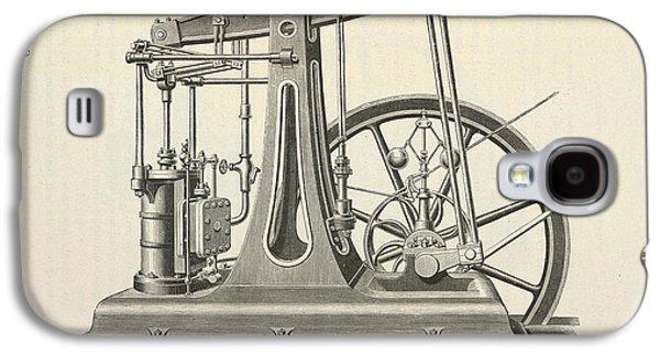 Printing Machine Galaxy S4 Case by British Library
