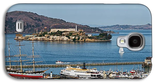 Punishment Galaxy S4 Cases - Prison On An Island, Alcatraz Island Galaxy S4 Case by Panoramic Images