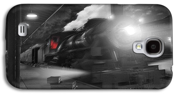 Walkway Digital Art Galaxy S4 Cases - Pulling Out Galaxy S4 Case by Mike McGlothlen