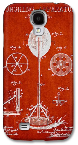 Punching Galaxy S4 Cases - Punching Apparatus Patent Drawing from1895 Galaxy S4 Case by Aged Pixel