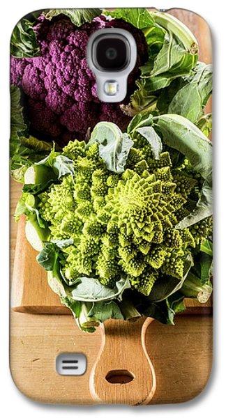 Purple And Romanesque Cauliflowers Galaxy S4 Case by Aberration Films Ltd
