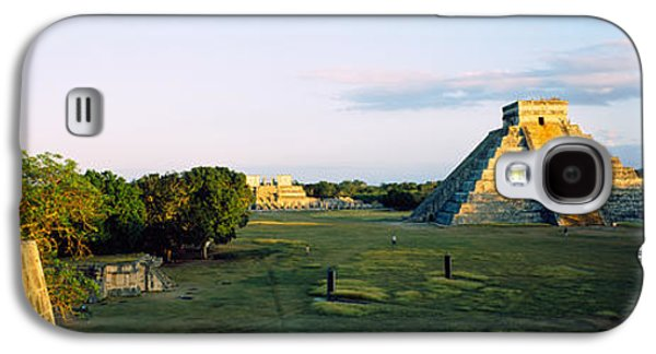 Ancient Civilization Galaxy S4 Cases - Pyramids At An Archaeological Site Galaxy S4 Case by Panoramic Images