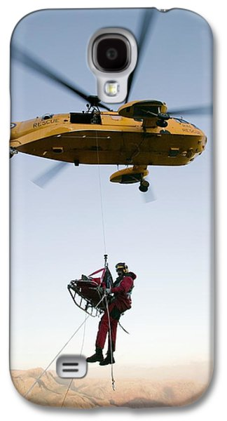 Raf Sea King Helicopter Galaxy S4 Case by Ashley Cooper