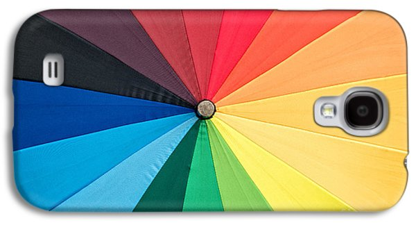 Chromatic Galaxy S4 Cases - Rainbow Galaxy S4 Case by Delphimages Photo Creations